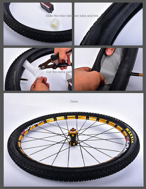 Bicycle inner tube protection pad