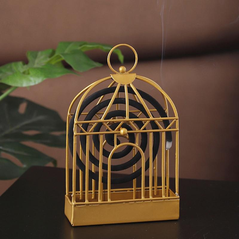 Retro iron insect mosquito coil holder