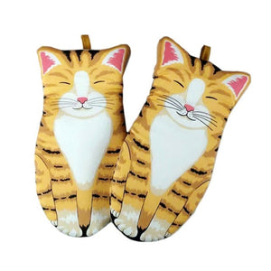 Cat Paws Heat-Resistant Gloves