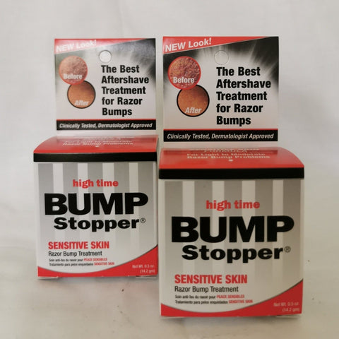 2 x Bump Stopper High Time Sensitive Skin Razor Bump Treatment 14.2g - AU Stock - LOL Hair & Beauty