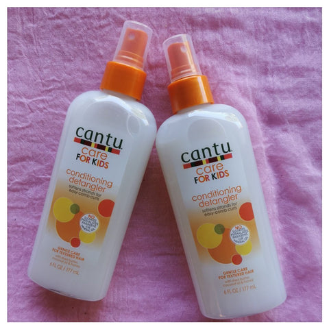 2 x Cantu Kids Conditioning Detangler 6oz - Australia Stock - LOL Hair & Beauty