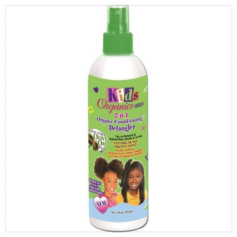 Africa's Best Kids Originals 2 in 1 Natural Conditioning Detangler 12oz - Australia Stock - LOL Hair & Beauty