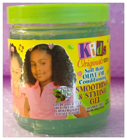Africa's Best Kids Originals Smoothing & Styling Gel 15oz - Australia Stock - LOL Hair & Beauty