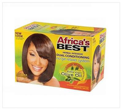 Africa's Best No-lye Relaxer System - Regular - Australia Stock - LOL Hair & Beauty