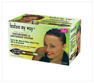 Africa's Best Texture my way Womens Texturising & Softening System - Australia Stock - LOL Hair & Beauty