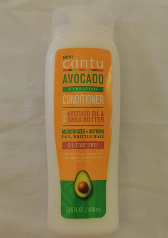 Cantu Avocado Hydrating Conditioner Silicone Free 13.5oz - Australia Stock - LOL Hair & Beauty