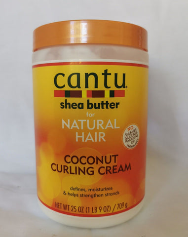 Cantu Shea Butter for Natural Hair Coconut Curling Cream 25oz - AU Stock - LOL Hair & Beauty