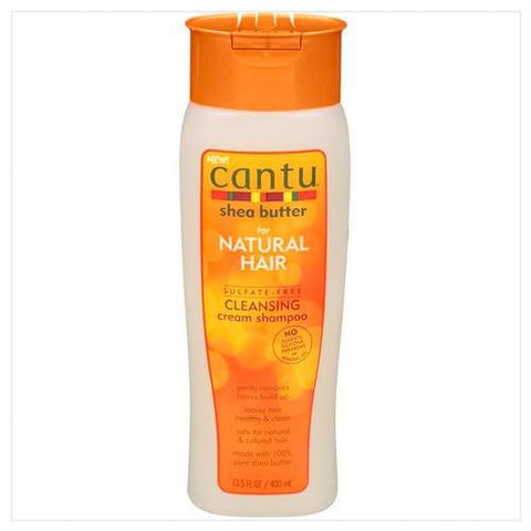 Cantu Shea Butter for Natural Hair Sulfate Free Cleansing Cream Shampoo 13.5oz - Australia Stock - LOL Hair & Beauty