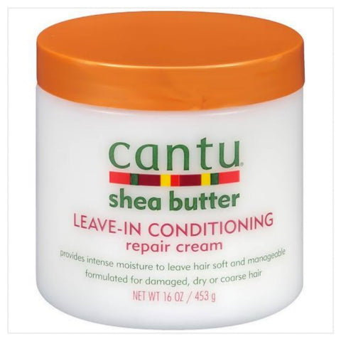 Cantu Shea Butter Leave in Hair Conditioning Repair Cream 16oz - Australia Stock - LOL Hair & Beauty