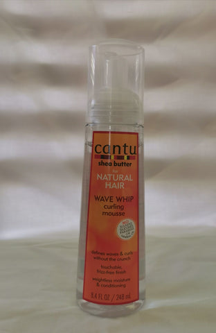 Cantu Shea for Natural Hair Wave Whip Curling Mousse 8oz - Australia Stock - LOL Hair & Beauty