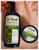 Dr Teal's Body Wash & Body Scrub Relax & Relief with Eucalyptus & Spearmint Pack - Australia Stock - LOL Hair & Beauty