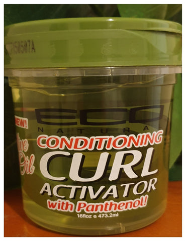 Eco Natural Conditioning Olive oil Curl Activator with Panthenol 16oz - Australia Stock - LOL Hair & Beauty