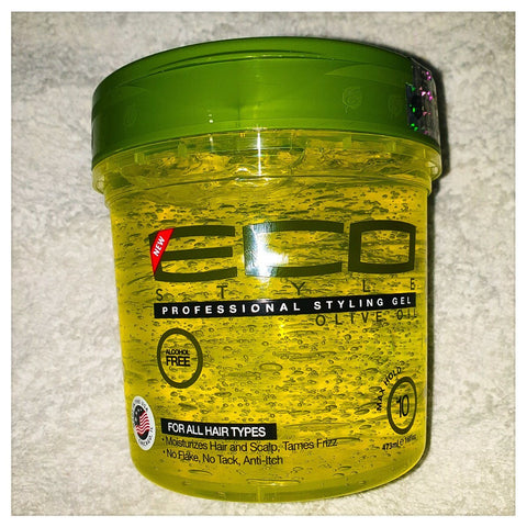 Eco Professional Styling Gel Olive Oil 16 oz - AUSTRALIA STOCK - LOL Hair & Beauty