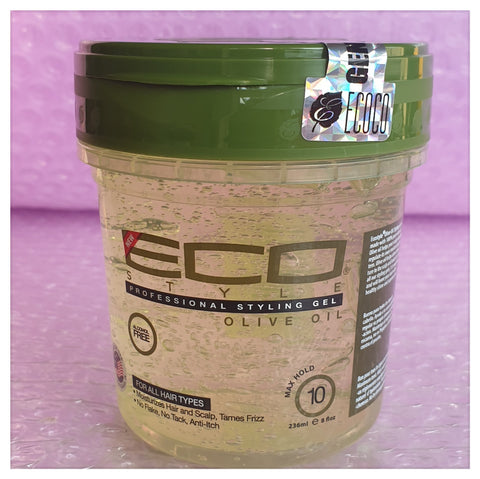Eco Professional Styling Gel Olive Oil 8oz - AUSTRALIA STOCK - LOL Hair & Beauty