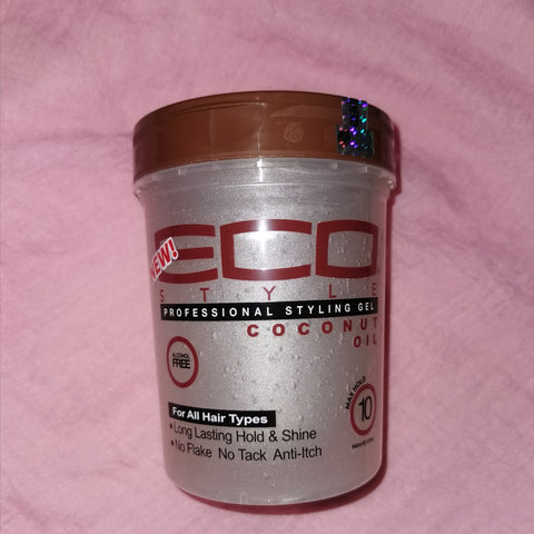 Eco Style Professional Styling Gel Coconut Oil 32oz - Australia Stock - LOL Hair & Beauty