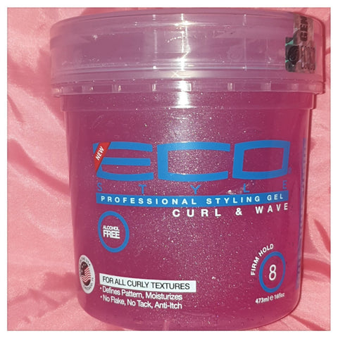 Eco Style Professional Styling Gel Curl & Wave 16oz - Australia Stock - LOL Hair & Beauty