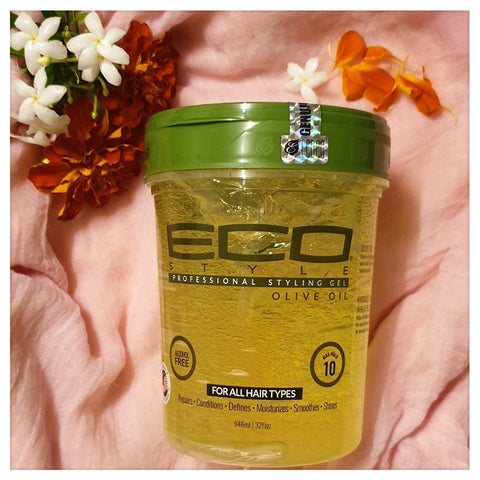 ECO Style Professional Styling Olive Oil Gel 32oz - Australia Stock - LOL Hair & Beauty