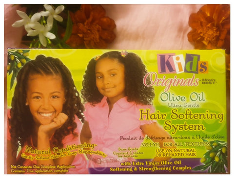 Kids Originals Olive Oil Ultra-Gentle Hair Softening System - Australia Stock - LOL Hair & Beauty