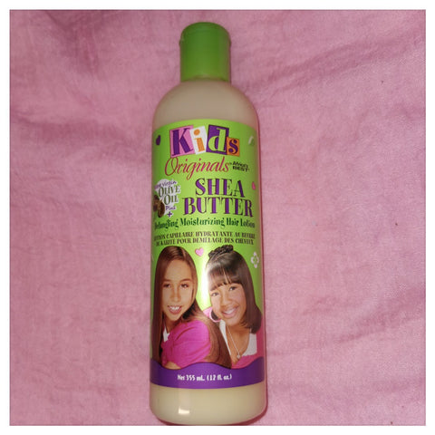 Kid's Originals Shea Butter Detangling Moisturizing Hair Lotion 12oz - Australia Stock - LOL Hair & Beauty