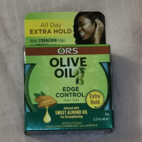 ORS Olive Oil Extra Hold Edge Control Hair Gel 2.25oz - Australia Stock - LOL Hair & Beauty
