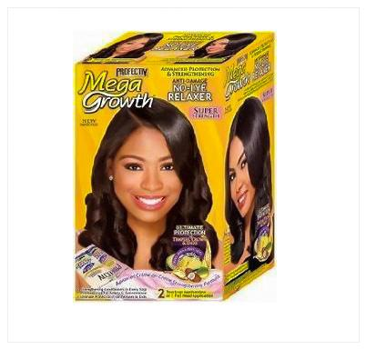 Profectiv Mega Growth No-lye Relaxer kit -Super 2 application - Australia Stock - LOL Hair & Beauty