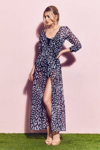ISADORA Leopard Duster Dress