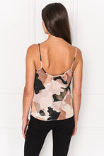 Load image into Gallery viewer, GIANNA Camo Print Silk Camisole