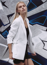 Load image into Gallery viewer, Paris Blazer - White