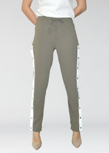Load image into Gallery viewer, Penny Pants - Khaki/Ivory
