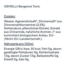 Laden Sie das Bild in den Galerie-Viewer, GEMELLii Bergamot Tonic