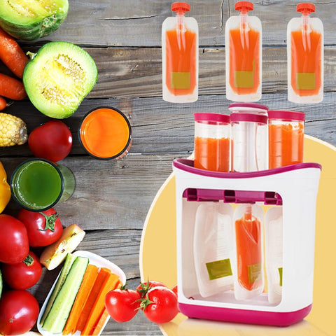 Baby Food Maker - DIY Baby Food Squeeze Station
