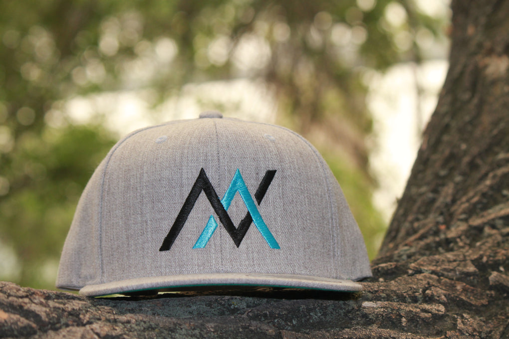 NVUS Snapback (Black/Blue Embroidery)