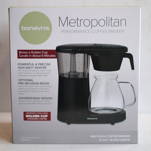 Metropolitan 8-Cup One-Touch Coffee Brewer