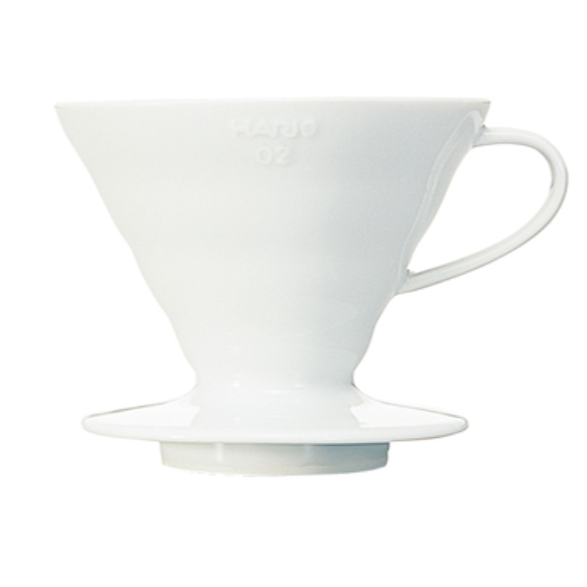 V60 Coffee Dripper 02 Ceramic / White