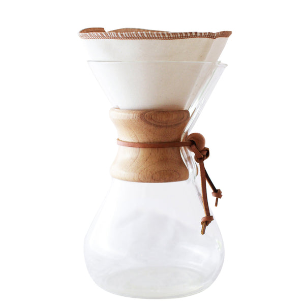 Coffee Sock Filter Chemex® Style 6-13 cup Half Moon