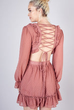 Load image into Gallery viewer, Wild Romance Dress in Rose