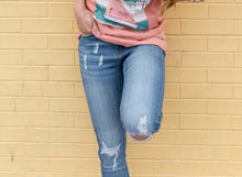 Load image into Gallery viewer, Kaitlyn Ripped Denim Kancan Jeans