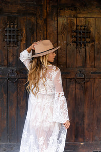 Lusting For You White Lace Cardigan