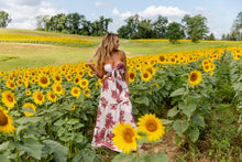 Load image into Gallery viewer, Field Of Dreams Two Piece Maxi Skirt Set