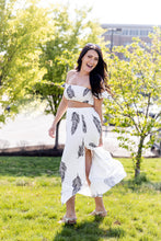 Load image into Gallery viewer, Coconut Water Two Piece Maxi Set