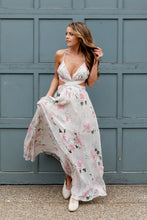 Load image into Gallery viewer, Modern Romance Maxi Dress Floral