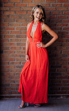 Load image into Gallery viewer, Every Little Thing Red Maxi Dress