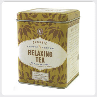 Chopra relaxing tea