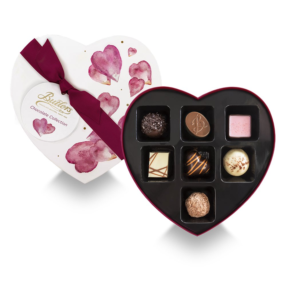 Butler's Heart Box Chocolates - small
