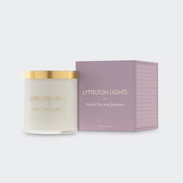 Load image into Gallery viewer, Lyttelton Lights - Sweet Pea Candle