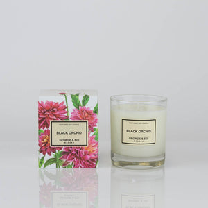 George & Edi - Black Orchid Candle