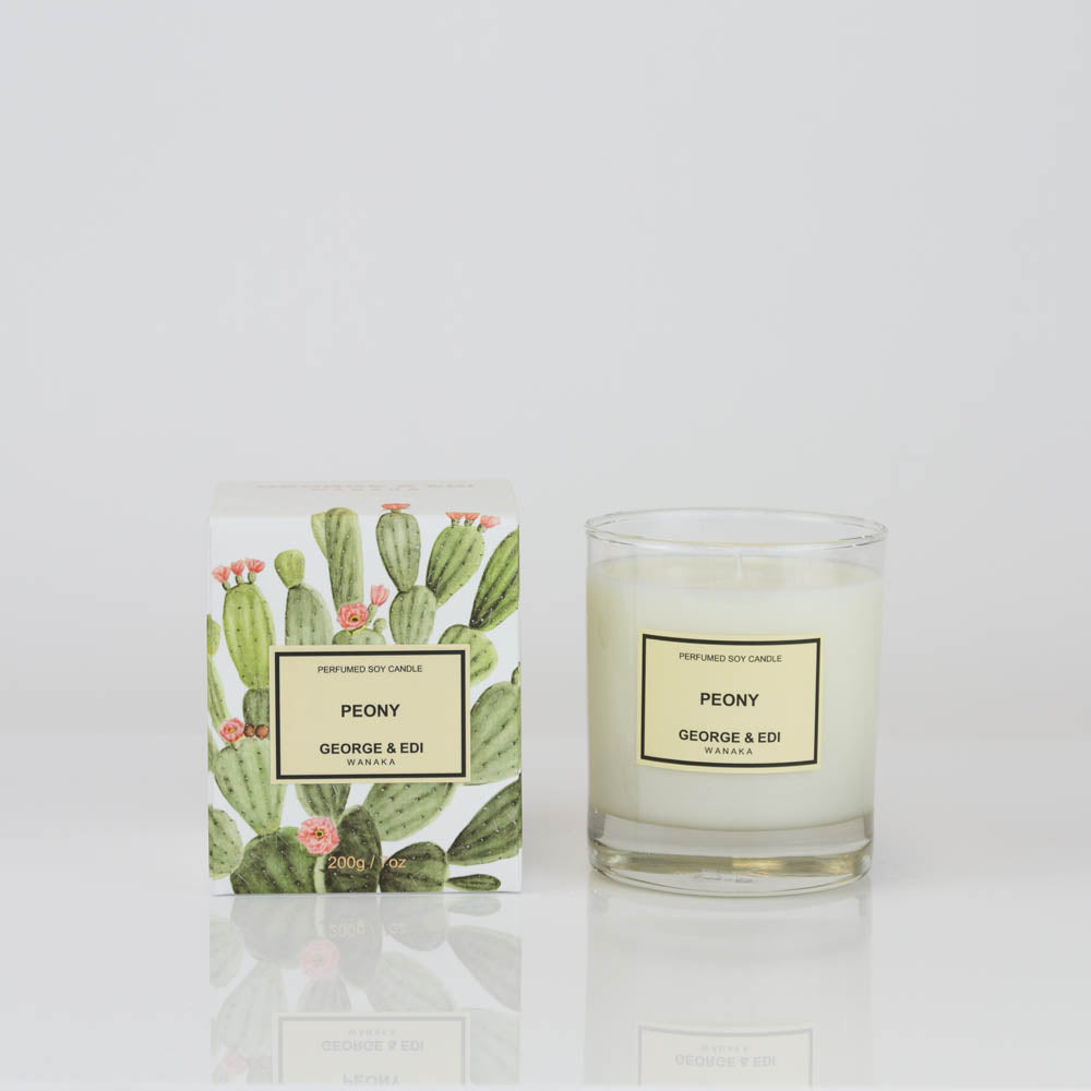 Load image into Gallery viewer, George & Edi - Peony Candle
