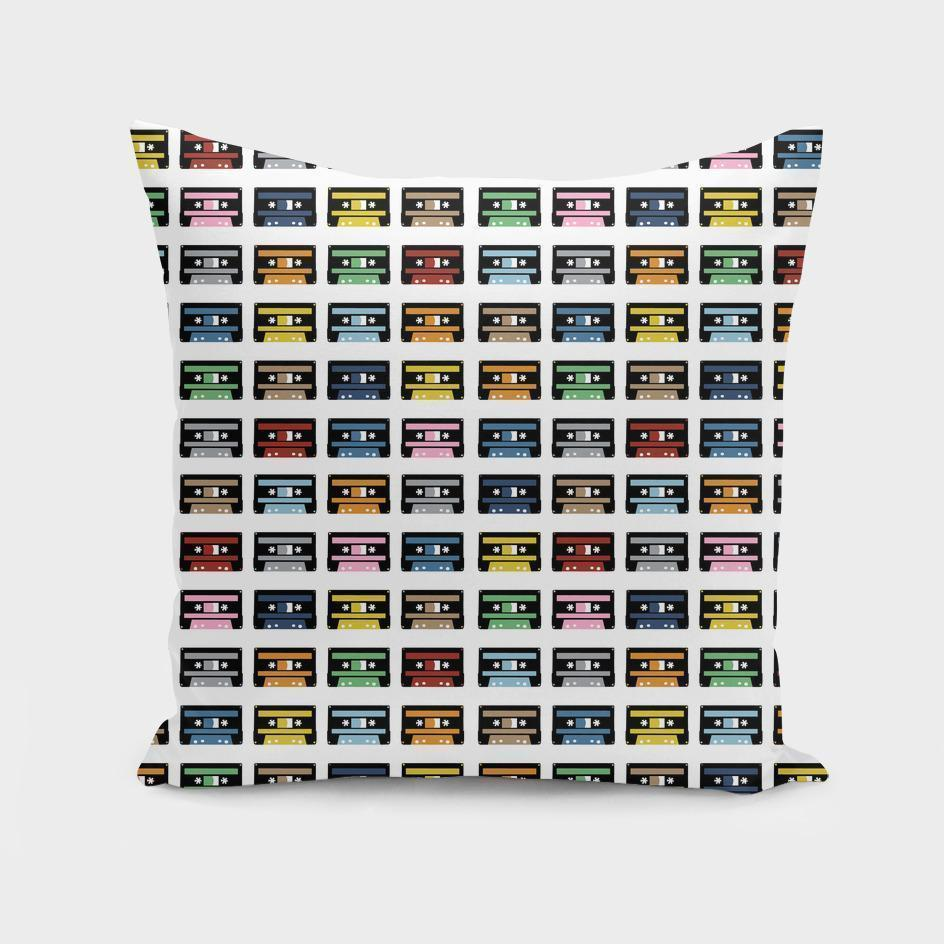 140 Rainbow Tapes  Cushion/Pillow