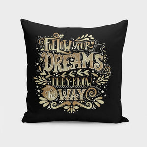 Follows Your Dreams Cushion/Pillow