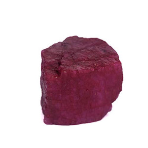 A High-Grade Red Ruby 102.00 Ct Healing Crystal, Natural Ruby Chunk, Uncut Rough Ruby: Arts, Crafts & Sewing